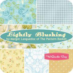 Lightly Blushing Fat Quarter Bundle Margot Languedoc for Henry Glass Fabrics