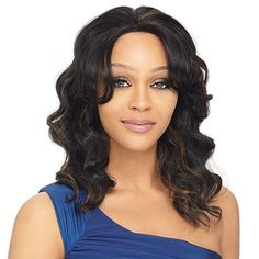 Synthetic Lace Front Wig OUTRE Joline Color S1B/30 by Outre. $29.80