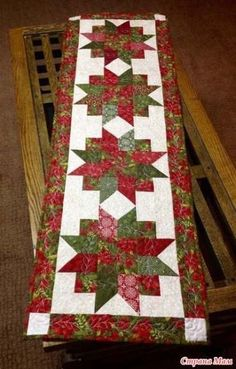 Table Runner And Placemats Quilted Table Runners Quilted Table Runner Patterns Easy Quilts Small Quilts Quilted Table Toppers Christmas Runner Christmas Cactus Christmas Quilting Quilted Table Runners Christmas, Patchwork Table Runner, Christmas Patchwork, Christmas Quilt Patterns, Christmas Runner, Table Runner And Placemats, Table Runner Pattern, Christmas Quilting, Purple Christmas