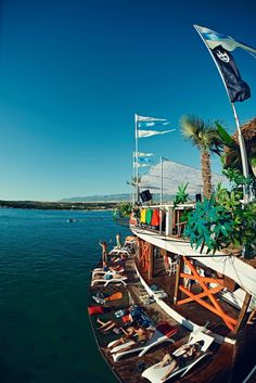 Noah Beach Club, Zrce Beach, Island of Pag, Croatia...... Please can I go back :(