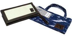 Hermosa billetera de cuero para mujer con un detalle de paja toquilla! Incluye una bolsa/cartera de tela. Tu nuevo accesorio favorito está aquí!    https://www.kickstarter.com/projects/841976228/anqa-wallets-changing-a-country-through-design