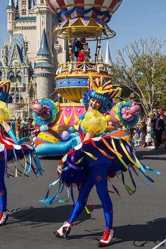 'Disney Festival of Fantasy Parade' Debuts at Magic Kingdom Park 3 10 14