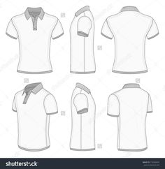 stock-vector-all-views-men-s-white-short-sleeve-polo-shirt-design-templates-front-back-half-turned-and-side-178284005