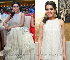 Samantha Prabhu Earrings Designs