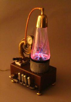 steampunk generator.  plasma.  energy.