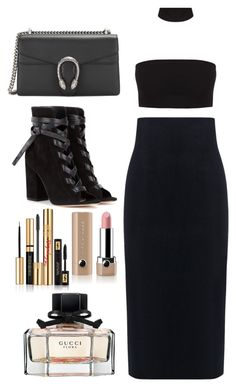 Untitled #3458 by dkfashion-658 on Polyvore featuring polyvore fashion style 10 Crosby Derek Lam Gianvito Rossi Gucci Marc Jacobs Yves Saint Laurent clothing