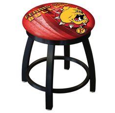 Ferris State Bulldogs D2 Black Swivel Vanity Stool. Visit SportsFansPlus.com for details.