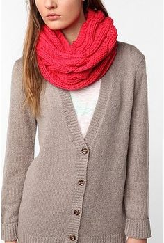 Cooperative Cable Snood - StyleSays