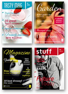 4 Beautiful InDesign Magazine Templates And Released Them For FREE Commercial Use