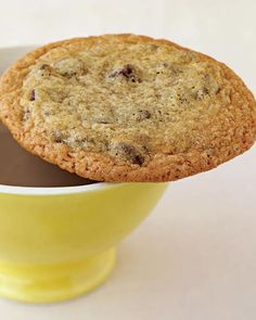 Our Favorite Chocolate Chip Cookie Recipes: A little bit of water in the dough allows these cookies to spread out as they bake, making for delicate, crisp results.