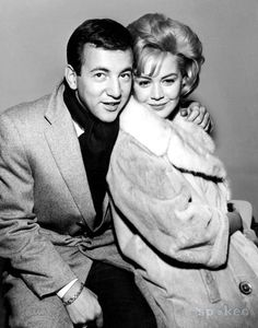 Sandra Dee and Bobby Darin 1962 - by Globe Photos, Inc.
