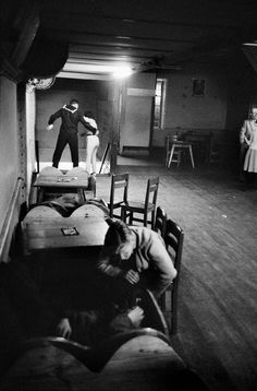 Sergio Larrain, bar, Valparaiso, Chile, 1963. Magnum Photos