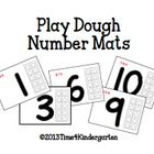 These mats are perfect for hands-on exploration with numbers and counting. The tens frames are great for practicing one to one correspondence.  Pri...