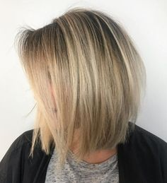 Popular Blowout Hairstyle Inverted Hairstyles, Cute Hairstyles For Medium Hair, Haircut For Thick Hair, Curly Hairstyles, Hairstyle Men, Wedding Hairstyles, Formal Hairstyles, Medium Hair Styles For Women, Medium Hair Cuts