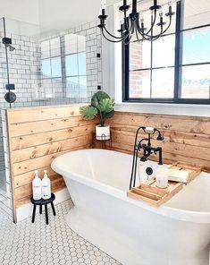 Bad Inspiration, Bathroom Inspiration, Bathroom Renos, Bathroom Interior, Remodel Bathroom, Bathroom Renovations, Modern Farmhouse Bathroom, Farmhouse Décor, Farmhouse Ideas