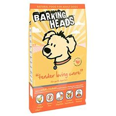 Barking Heads Dog Food Tender Loving Care Chicken & Rice 12kg. Dog food. Dog training. Dog guide. Pet guide. Pet food. It's an Amazon affiliate link.