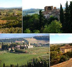 Landscape from Tuscany / Paisagem da região da Toscana