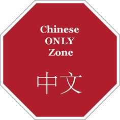 Have a Chinese Only Zone sign in your classroom. When it is visible, students must only speak Chinese.