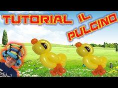 PALLONCINI MODELLABILI tutorial 31  PULCINO - YouTube