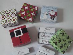 MODELO : <br>Caixa Bis Personalizado para o Natal <br>Temos 5 Opções de modelos ( a escolher). <br> <br>COMPLEMENTO: <br>Acompanha a caixa , fita de cetim verde ou vermelha ( cor variada), Tag de agradecimento , saco plástico , 6 Bis personalizado com desejos para o Ano Novo ( Paz, Amor, Felicidade, Conquistas, Saúde, Realizações). <br> <br>Temos opção de caixa c/ 20 Bis - R$14,00 completa com tag, saco plástico e fita. <br> <br>PAPEL: <br>Impressão em fotográfico peso 180gr ou fosco ( a…