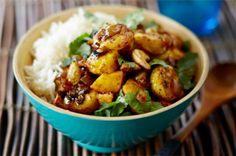 #Curry #Picante #Banana #LecheDeCoco #coco #recetas
