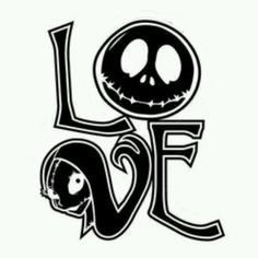 Jack Skellington and Sally Love wall decal ... Measure approximately 5 inch tall by 4 inch wide .. Will be in black ... It is a In home decal is safe for walls.