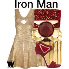 Wear What You Watch • Inspired by Robert Downey Jr as Iron Man in the...