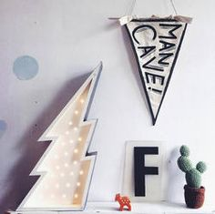 Petite Lightning Bolt light from the amazing company Fromage La Rue! I have my fingers crossed that I get one of these for Harry in the next re-stock! These are to die for!