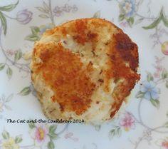 The Cat and the Cauldron: Knish Cakes Recipe Potato Pancake Caraway ...