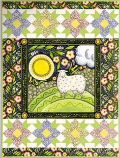 Quilt Kit top: The Four Seasons Spring by Julie Paschkis $42.94