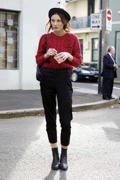 Olivia Thornton, Model, Sydney   Street Fashion   Street Peeper   Global Street Fashion and Street Style