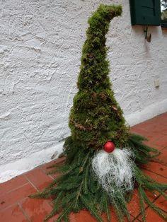 Swedisch Gnome basteln, Außendekoration, Winter-Deko