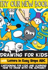 Free Kindle Book - Drawing for Kids with Letters in Easy Steps ABC: Cartooning for Kids and Learning How to Draw with the Alphabet Craft Activities For Kids, Crafts For Kids, Craft Kids, King Craft, Easter Baskets To Make, Drawing Lessons, Book Drawing, Drawing Faces, Drawing Techniques