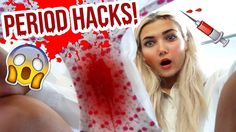 Period LIFE HACKS All Girls NEED To Know! + MACBOOK GIVEAWAY