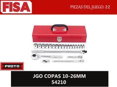 JGO COPAS 54210. Piezas en juego 22-  FERRETERIA INDUSTRIAL -FISA S.A.S Carrera 25 # 17 - 64 Teléfono: 201 05 55 www.fisa.com.co/ Twitter:@FISA_Colombia Facebook: Ferreteria Industrial FISA Colombia