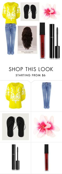 """""""Modern Day Belle"""" by musicislifeharrypotterislove ❤ liked on Polyvore featuring P.A.R.O.S.H., 3x1, Abercrombie & Fitch, Chanel, Smashbox, WigYouUp and modern"""