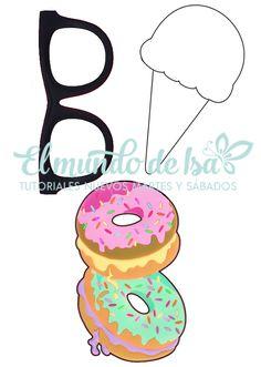 Fundas para móvil caseras, fundas de movil de donuts, helados y gafas. Manualidades fáciles | El Mundo de Isa