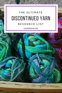 Where to find Discontinued Yarn 2019 Run out of yarn and find out it's been discontinued? We've got a plan for you to find the yarn you need to finish up your project. The post Where to find Discontinued Yarn 2019 appeared first on Yarn ideas. Knitting Blogs, Loom Knitting, Knitting Stitches, Knitting Patterns, Crochet Patterns, Knitting Tutorials, Knitting Beginners, Knitting Basics, Sweater Patterns