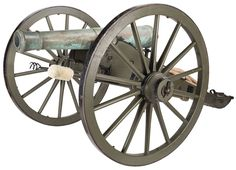 Rare U.S. Civil War Era Ames Foundry Model 1841 6 Pounder Cannon Dated 1855 with Provenance