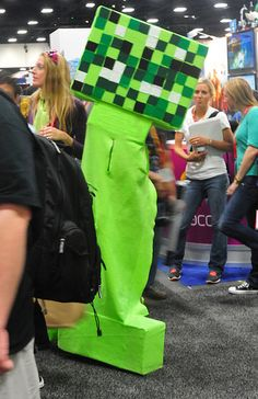 minecraft real creeper