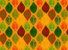"""""""Cloisonne' Leaves"""" by 61single"""