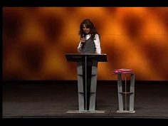 1/7 Lisa Bevere - The Confident Woman Fights Like a Girl. AWESOME teaching for all women to hear!