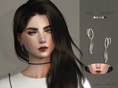 New mesh.  Found in TSR Category 'Sims 4 Female Earrings'
