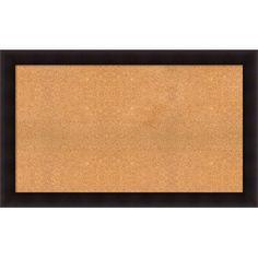 "Darby Home Co Hillandale Cork Bulletin Board Size: 32"" H x 52"" W x 0.88"" D"