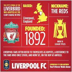 ♠ Club Information English Football Teams, Best Football Team, Football Soccer, Liverpool Fans, Liverpool Football Club, This Is Anfield, Toronto Fc, You'll Never Walk Alone, Boston Sports