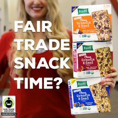 Welcome to the #FairTrade family @Kashi! Enter to #WIN the Ultimate Snack Pack here: http://fairtrd.us/1m0gnft #giveaway