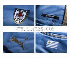 Nouveaux Maillot de foot Uruguay Coupe Du Monde 2014 Domicile personnaliser,boutique de football,www.lly525.com