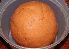 Pumpkin Pie Playdough - Happiness is Homemade
