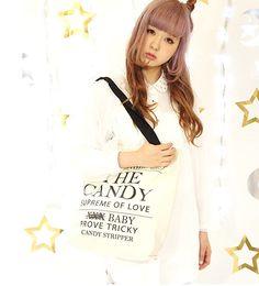 Candy Stripper Sweet Gothic Clothes: www.vivi-clothes.com