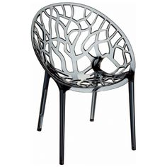 Crystal Stacking Side Chair (Set of 2)
